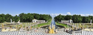 Peterhof Panorama from palace