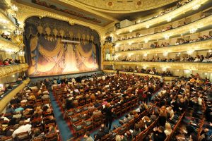 Saint Petersburg - San Pietroburgo - Gennaio 2010 - inverno - Mariinsky Theatre - teatro Mariinsky - interni